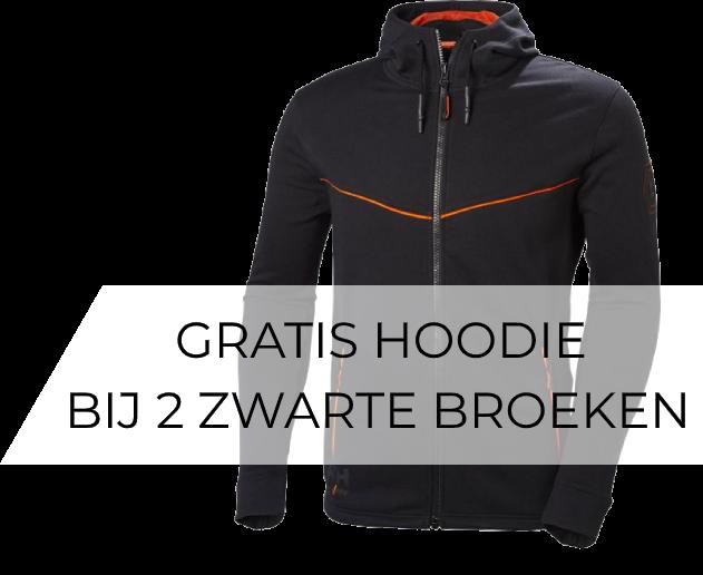 2 Stuks Helly Hansen Chelsea Evolution Werkbroek Stretch 77446 + Gratis hoodie