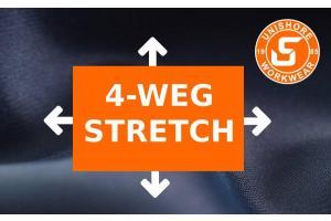4-weg stretch is de trend