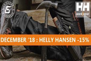 December 2018 feestmaand: 15% korting op Helly Hansen
