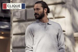 Clique Basic Polosweater