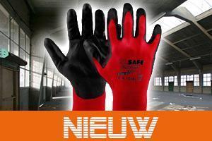 NIEUW: extreem lichte M-Safe PU-Light 50-400 met hoge vingergevoeligheid en comfort!