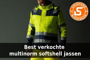 Best verkochte Multinorm softshell jassen