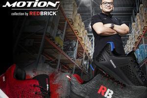 Al op de radio gehoord of in online media gezien? Redbrick Motion collectie!