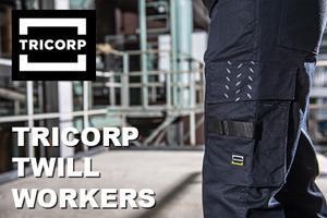 Nieuwe collectie Tricorp Twill werkbroeken!