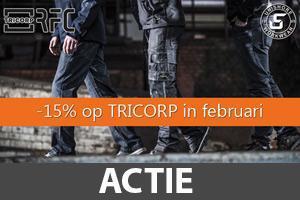 In februari krijgt u 15% korting op de gehele collectie van Tricorp