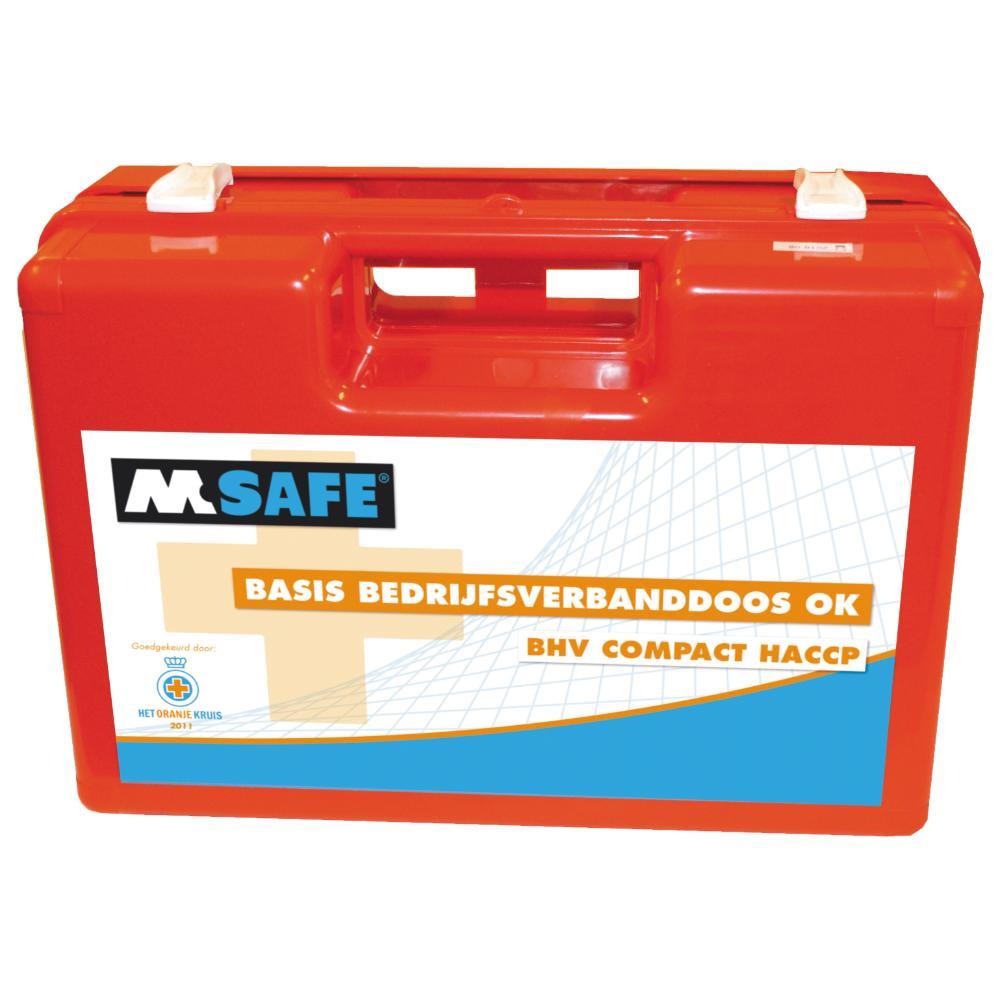 M-Safe Basis Bedrijfsverbanddoos BHV Compact (NT Naturel)