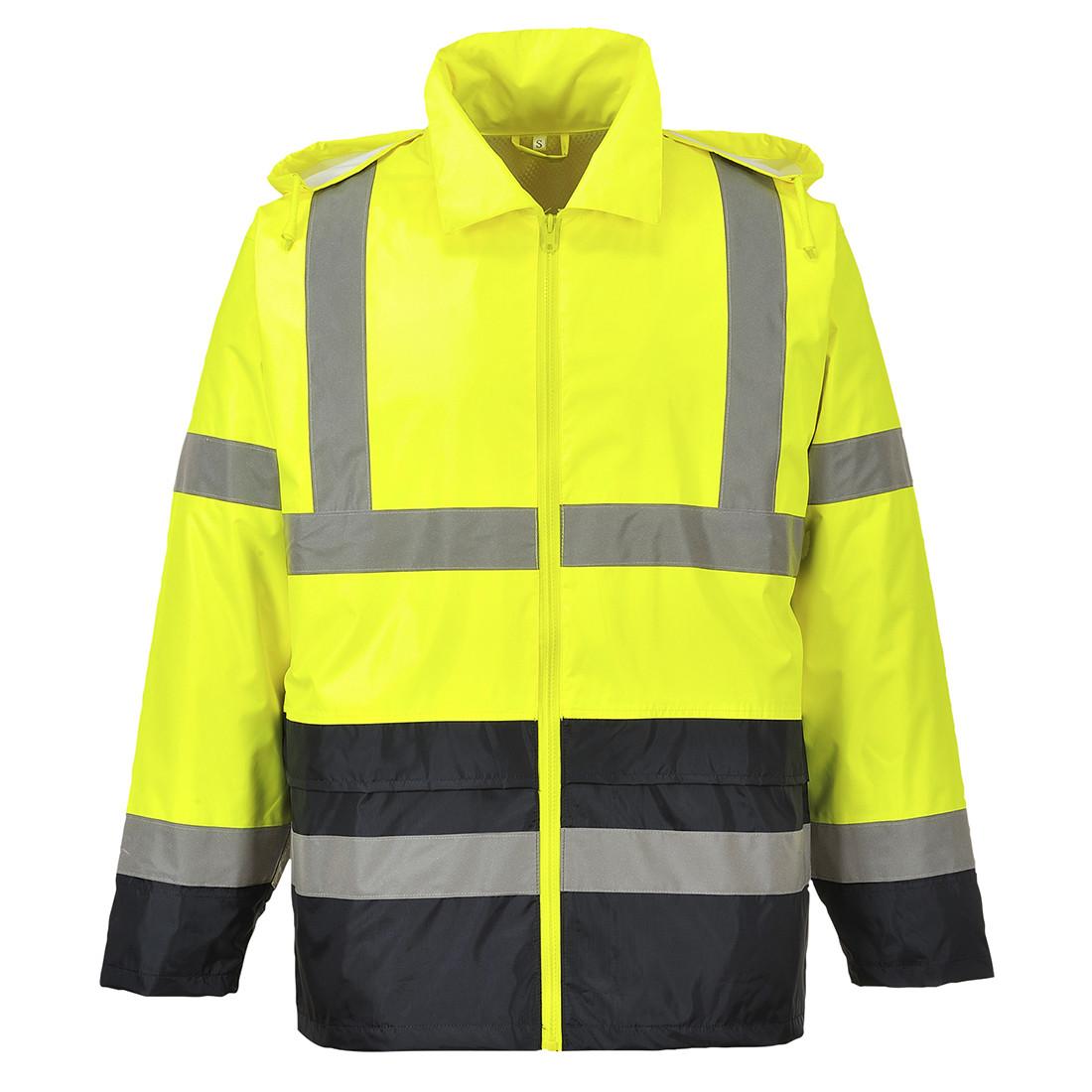 Portwest Hi-Vis Classic Bicolor Jacket (Geel/Zwart) 3XL