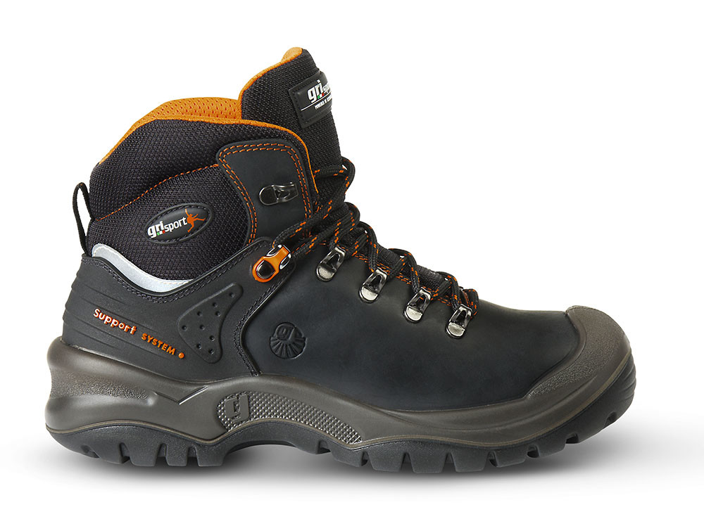 Grisport 803 S3 (Zwart/Oranje) 48