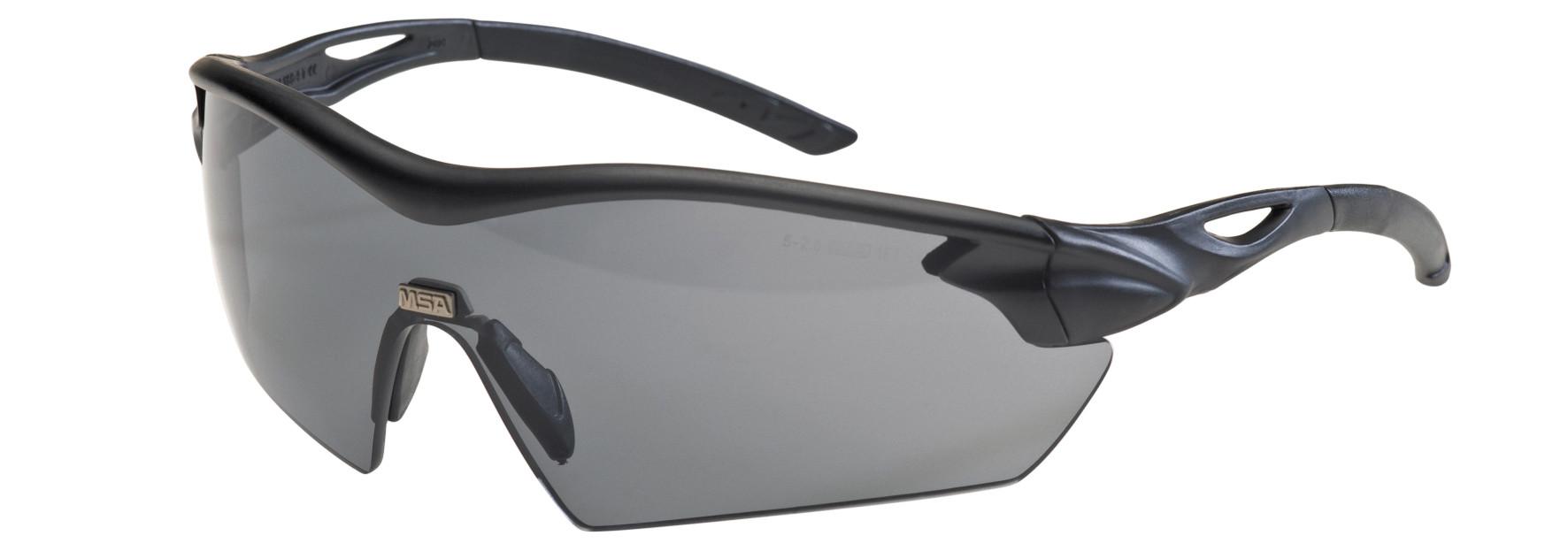 12ST MSA Veiligheidsbril Racers smoke (Donker)
