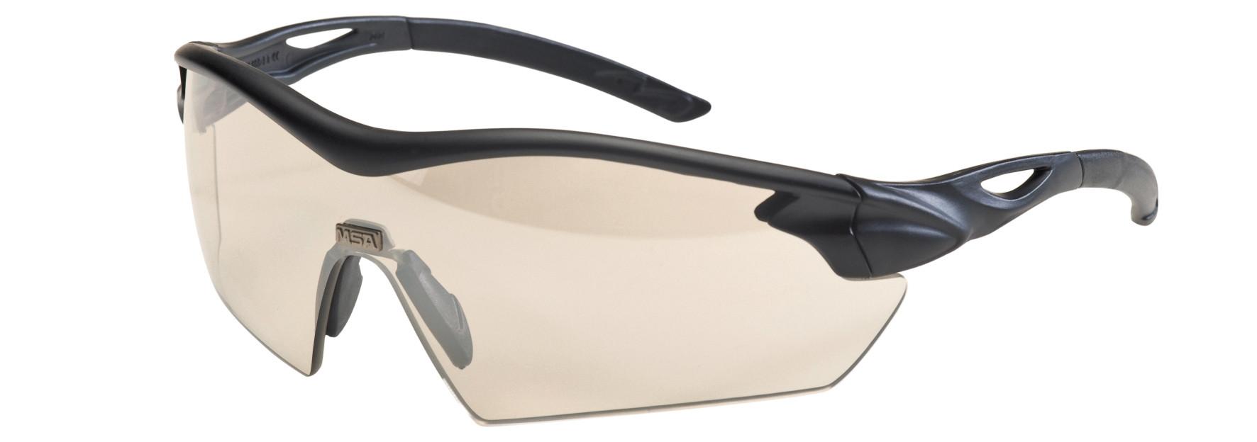 12ST MSA Veiligheidsbril Racers goud spiegellens