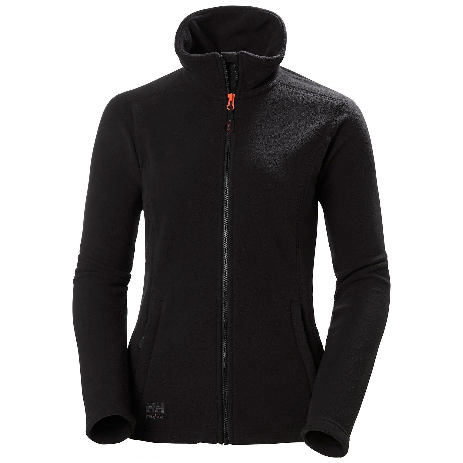 Helly Hansen Luna Dames Fleece Jacket (Zwart) XXL