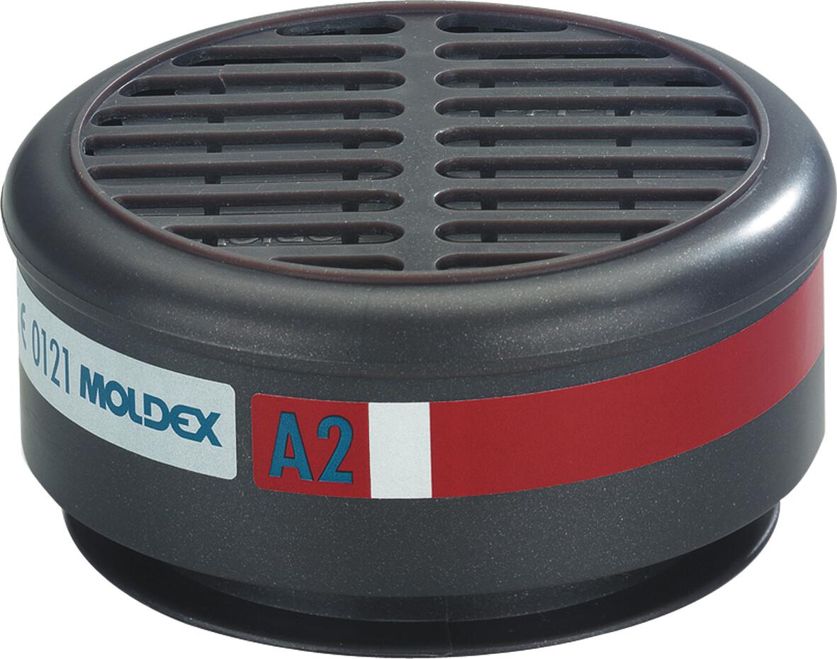 10 Stuks Moldex 8500 Gasfilter A2 (Standaard)