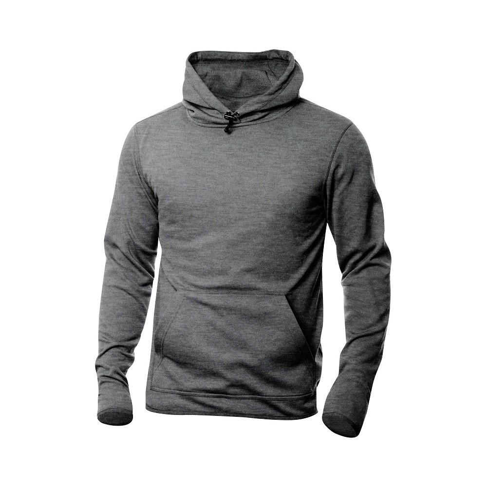 Clique Danville Hooded Sweater M (95 Grijsmelange)