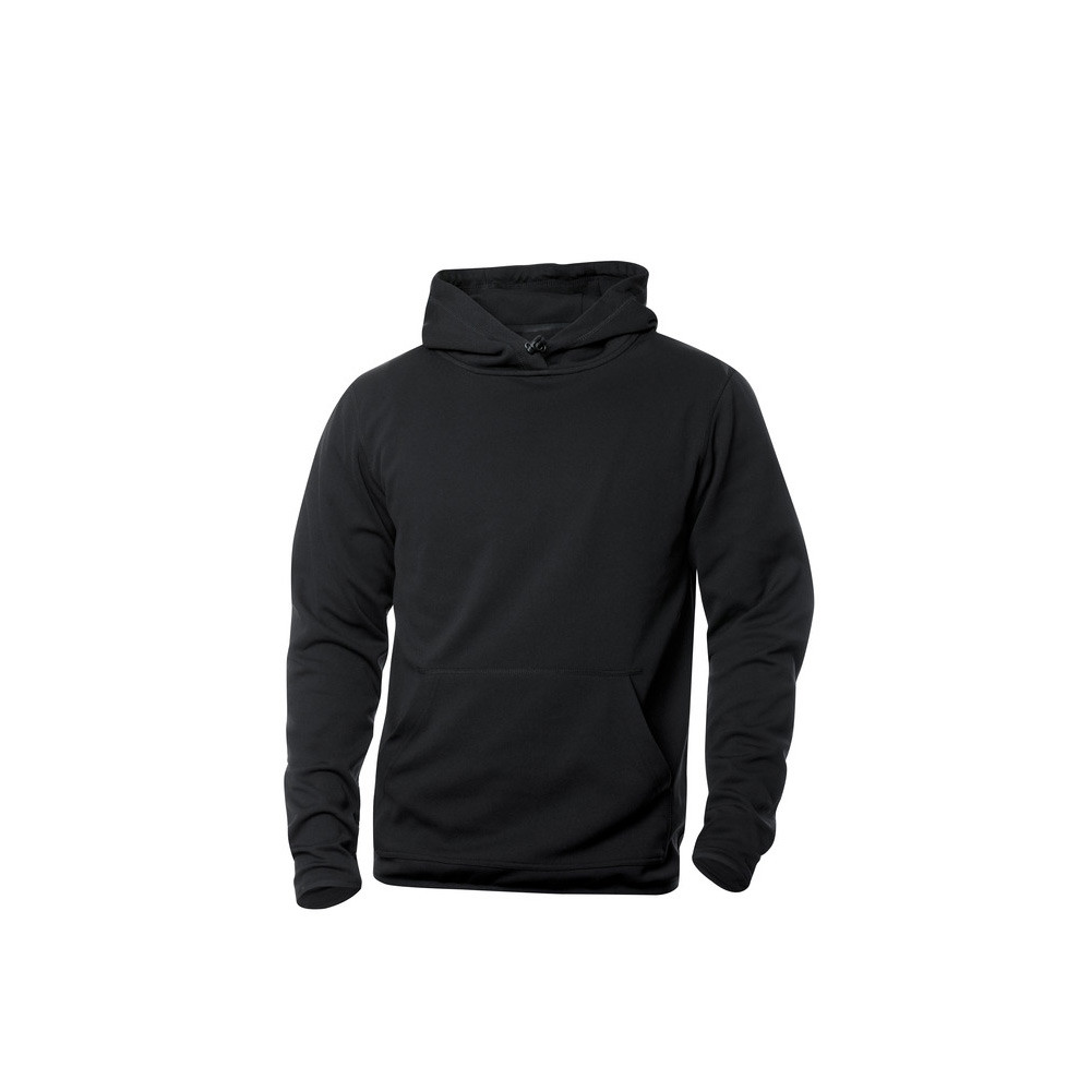 Clique Danville Hooded Sweater M (99 Zwart)