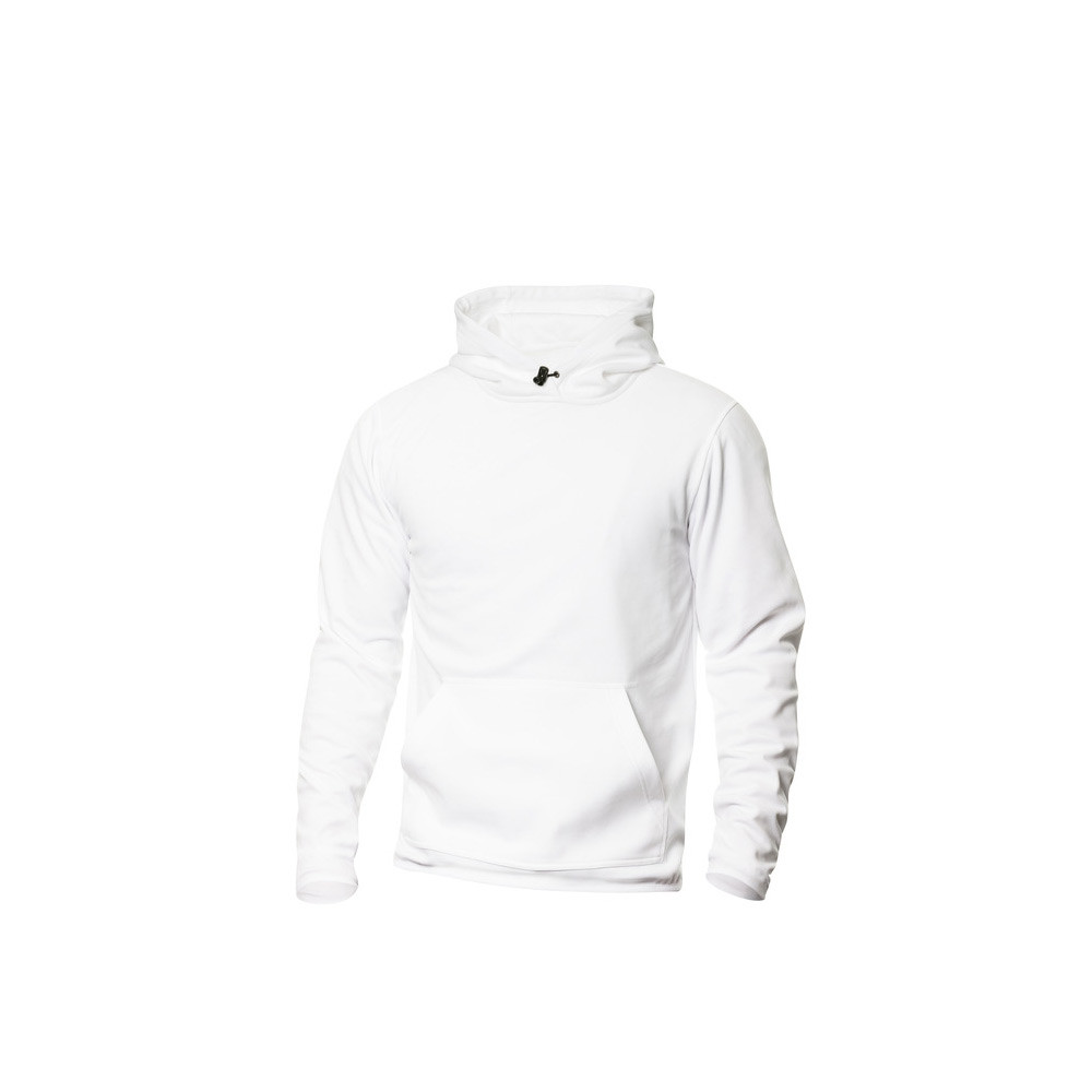 Clique Danville Hooded Sweater S (00 Wit)