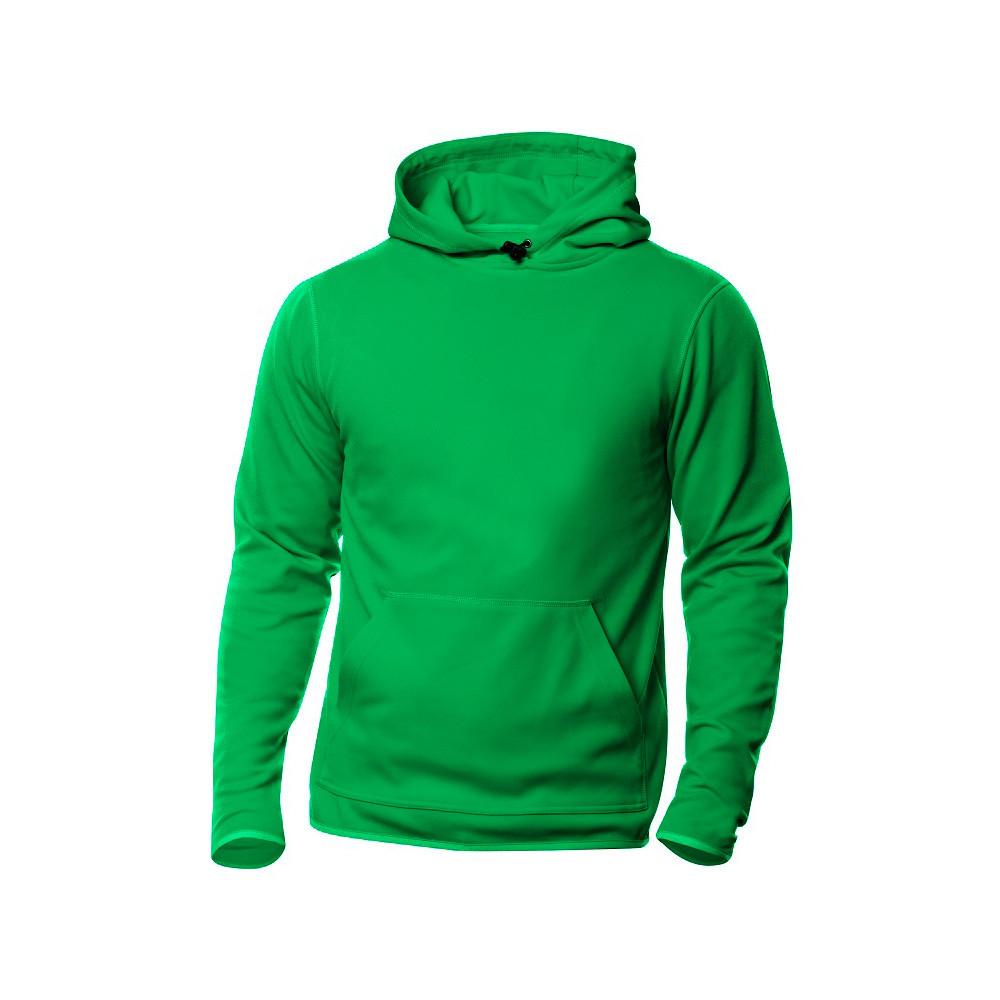 Clique Danville Hooded Sweater S (605 Appelgroen)