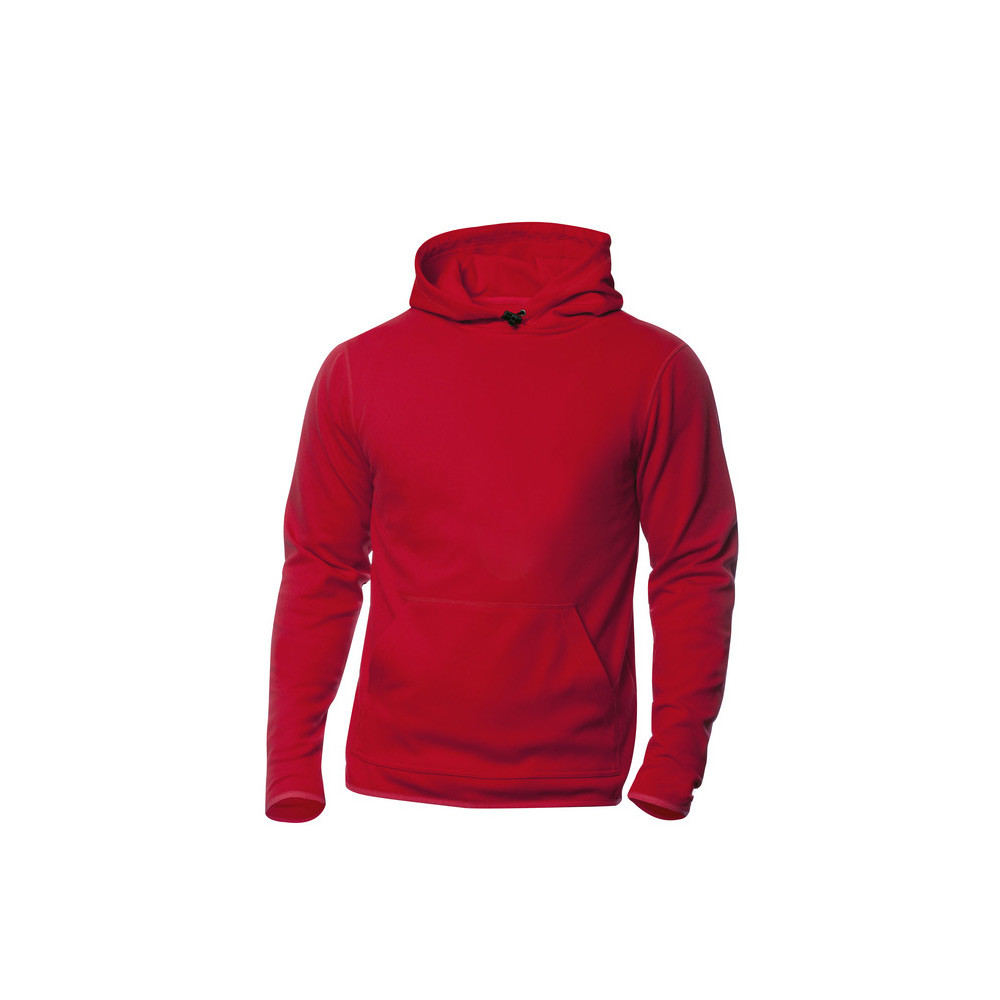 Clique Danville Hooded Sweater S (35 Rood)