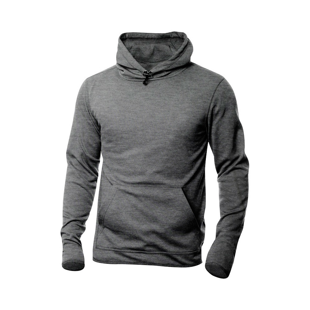 Clique Danville Hooded Sweater S (95 Grijsmelange)