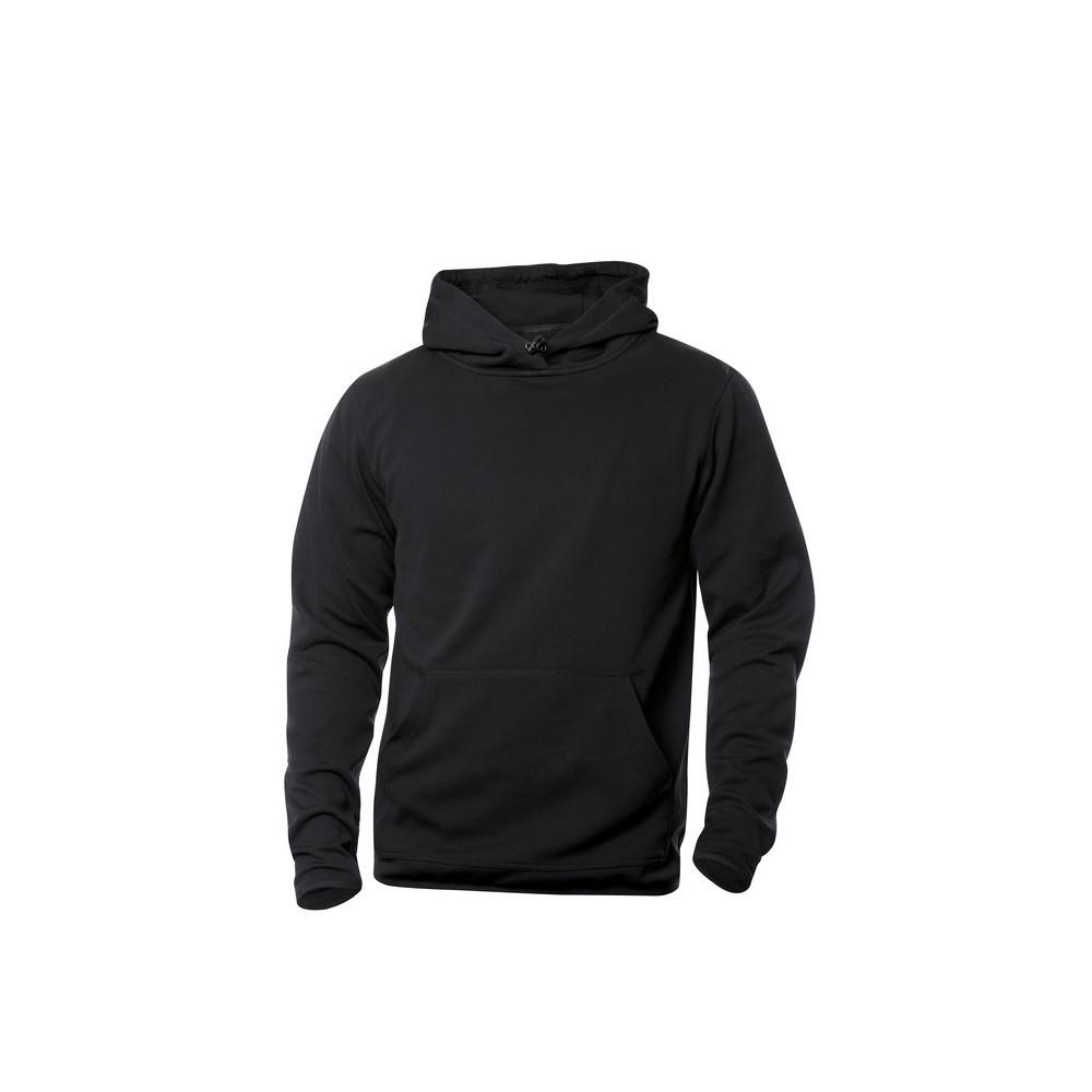 Clique Danville Hooded Sweater S (99 Zwart)