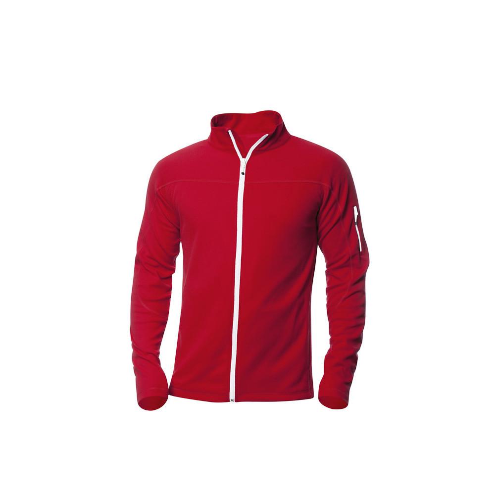 Clique Ducan Zipper-Sweater M (35 Rood)