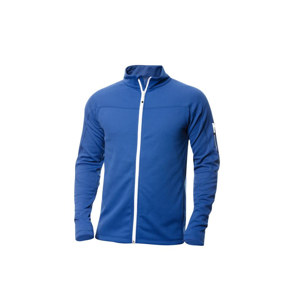 Clique Ducan Zipper-Sweater L (55 Kobalt)