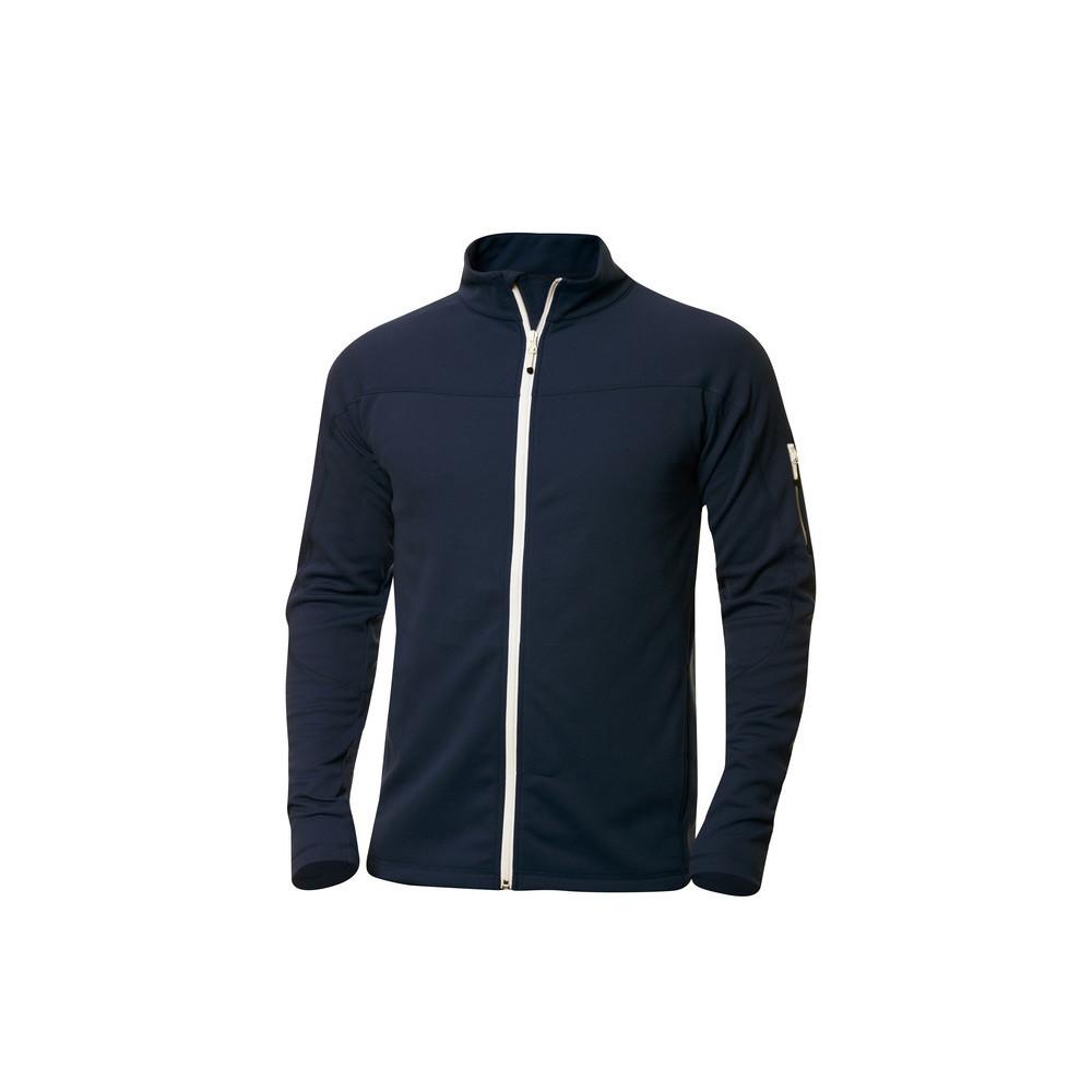 Clique Ducan Zipper-Sweater L (580 Dark Navy)