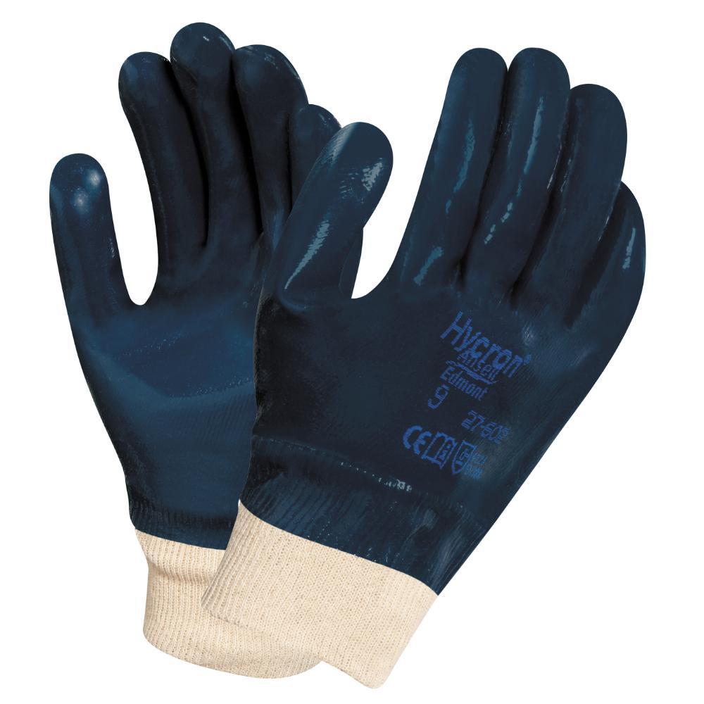 12 Paar Ansell Hycron 27-602 Handschoenen (Blauw) 10/XL