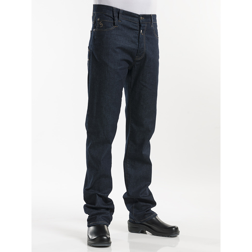 Chaud Devant Jeans Blue Denim 34I (Denim Blue)
