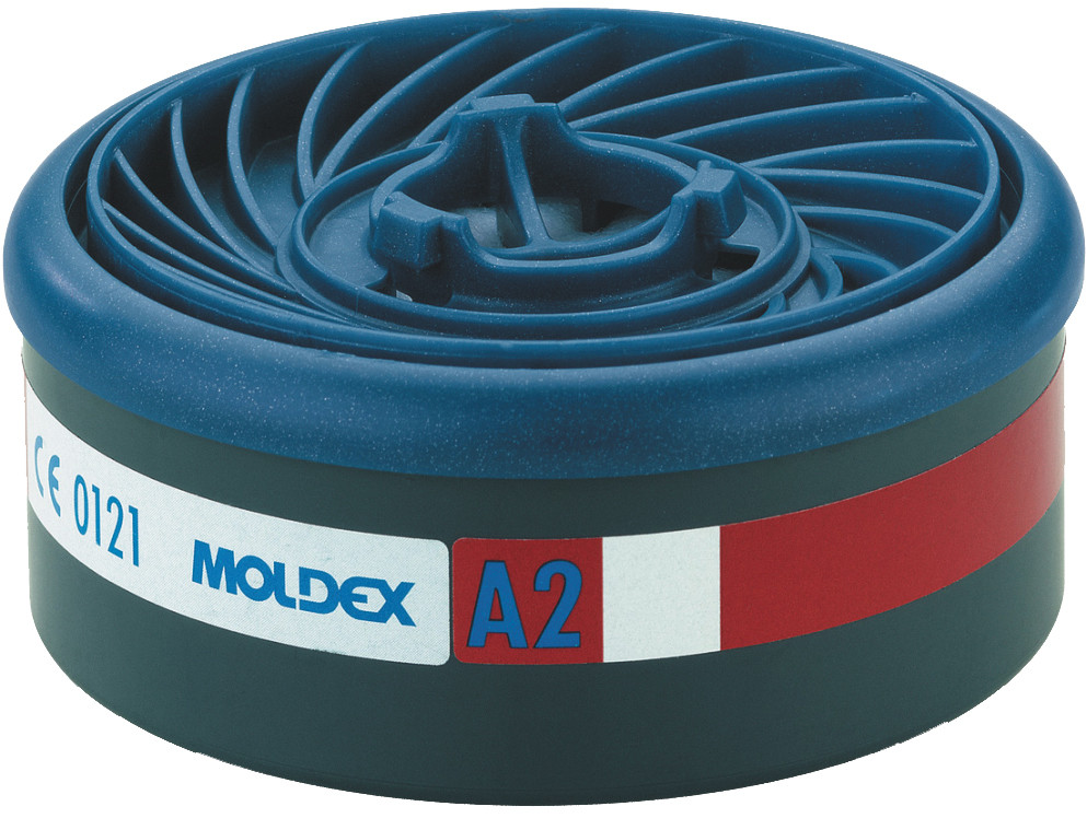 8 Stuks Moldex 9200 Gas- En Dampfilter A2