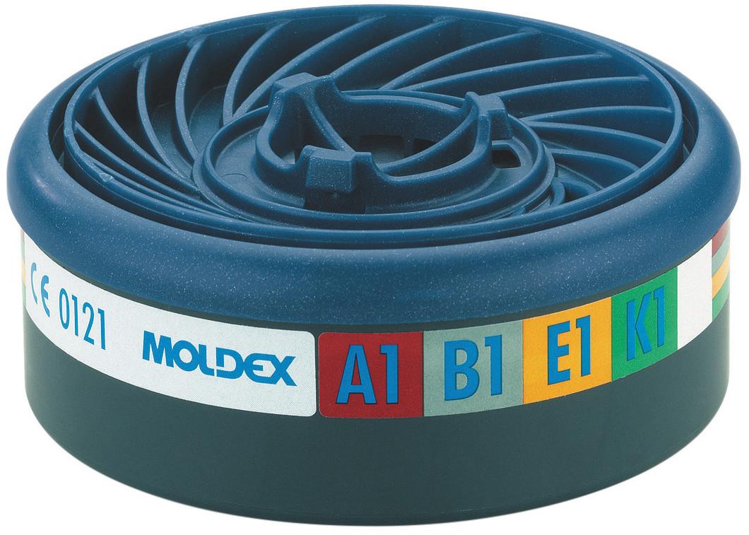 10 Stuks Moldex 9400 Gas- en Dampfilter ABEK1