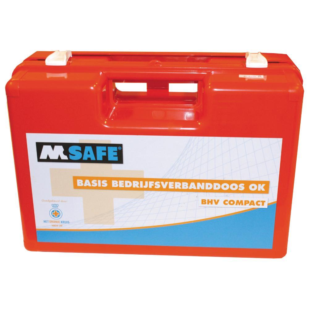 M-Safe BHV compact verbanddoos (NT Naturel)