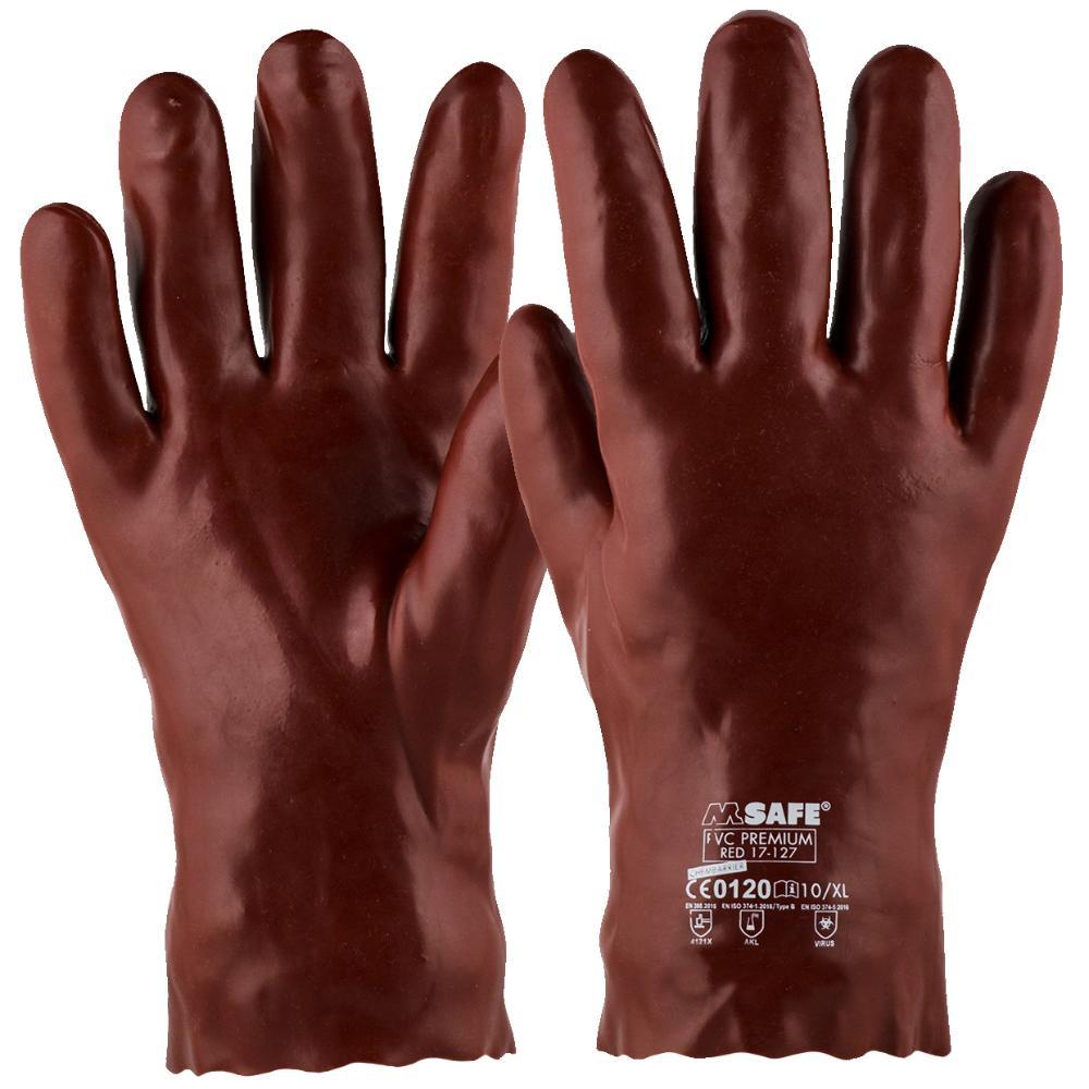 12Pr M-Safe Pvc Premium Red 17-127 (Rood) 10/XL