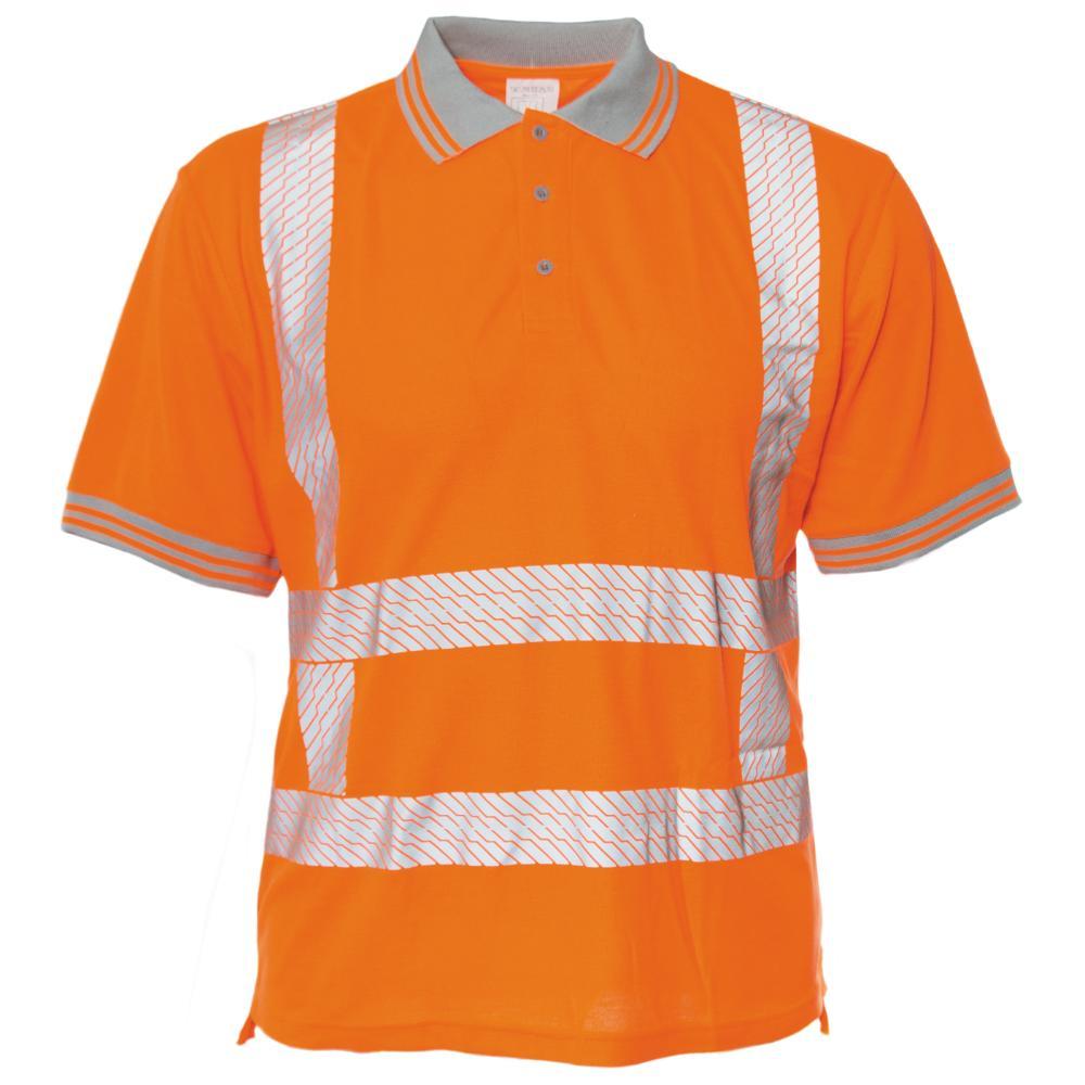 M-Wear 6210 RWS Polo Korte Mouw XL (OR Oranje)