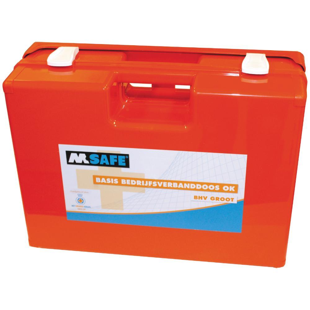 M-Safe Basis BHV groot verbanddoos (Oranje)