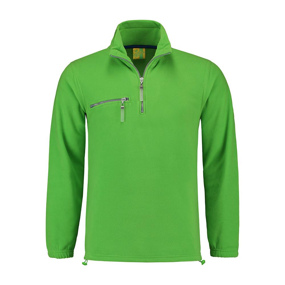L&S Polar Fleece Trui (Lime) 3XL