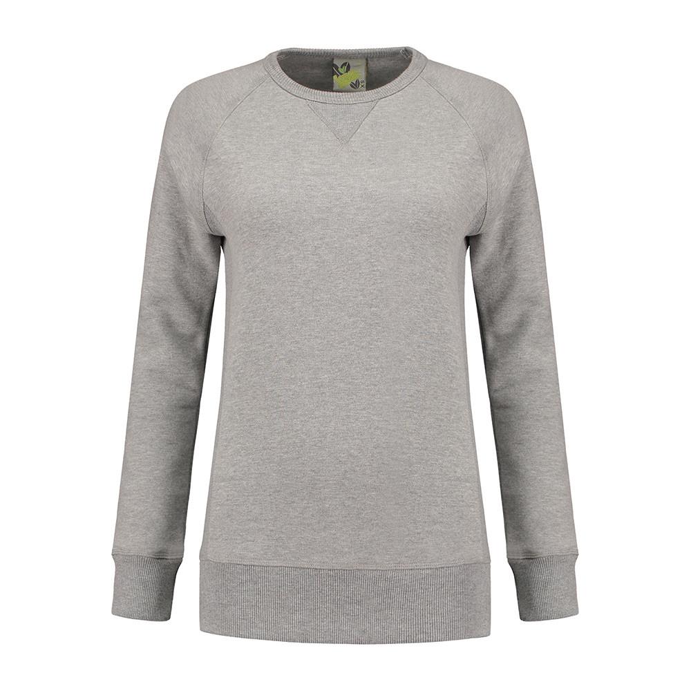 L&S Melange Trui Dames (Grijze heather) XL