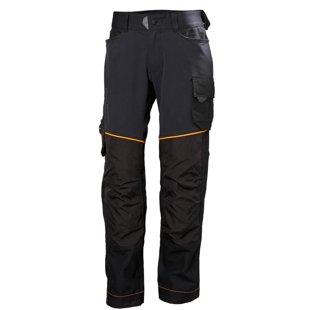 Helly Hansen Chelsea Evolution Work Pants (Zwart/Oranje) 46