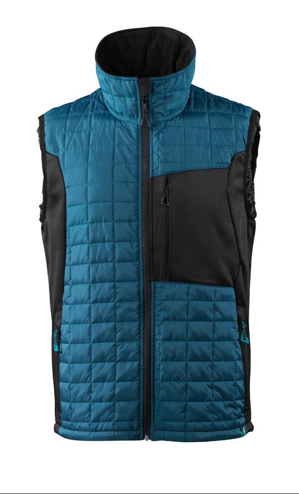 Mascot Thermo Vest (4409 donkerpetrol/zwart) XS