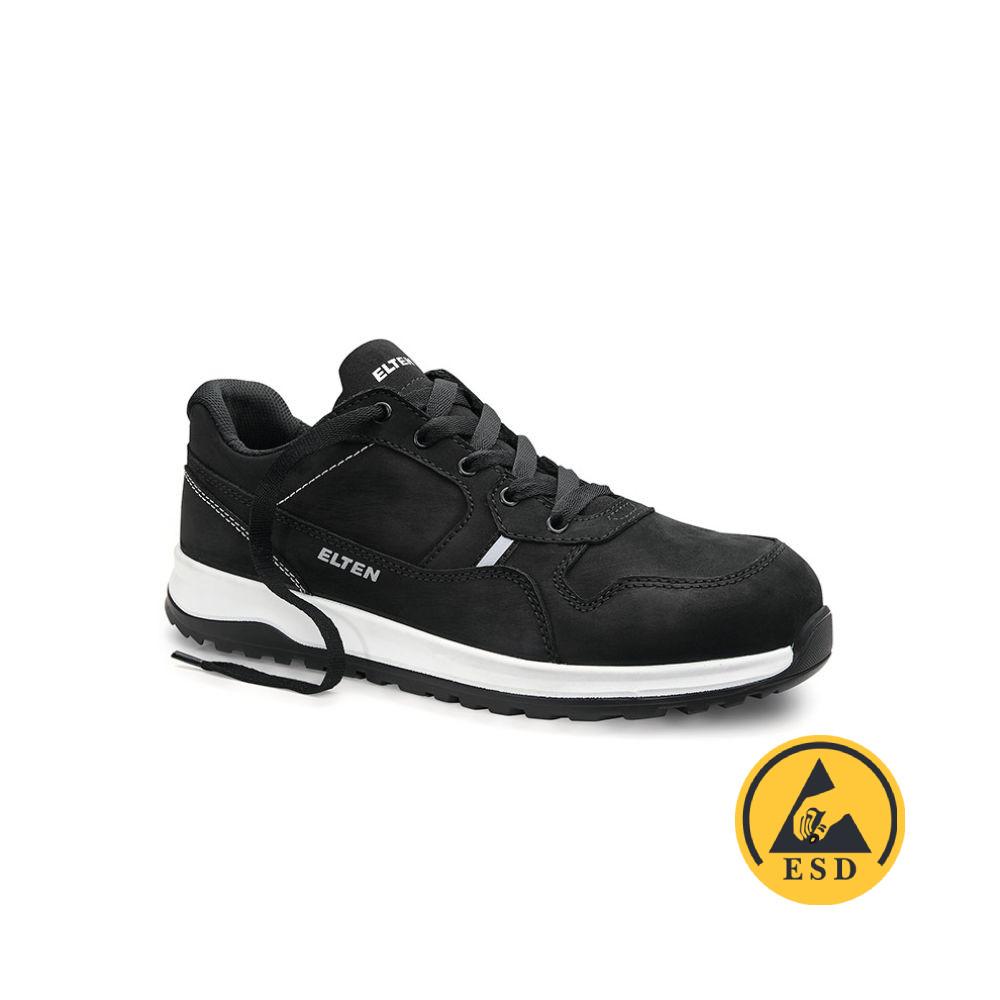 Elten Journey Black Low ESD S3 (Zwart) 40
