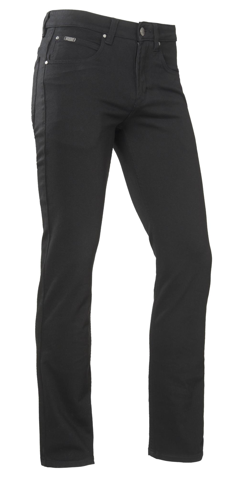 Brams Paris Danny Jeans Stretch (D51 Black Twill) W32-L32