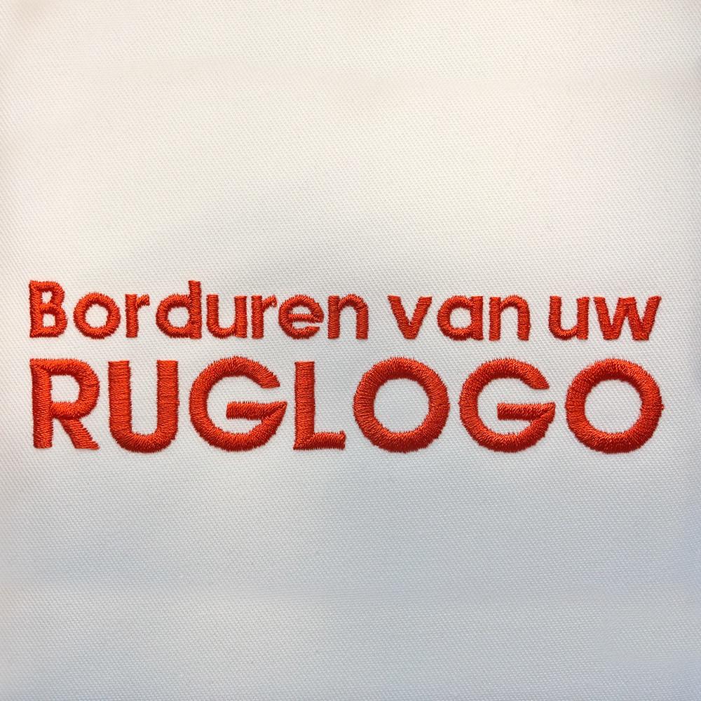 Borduren Ruglogo maximaal 24cm: