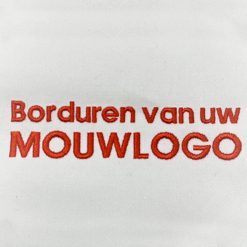Borduren Mouwlogo maximaal 11cm: