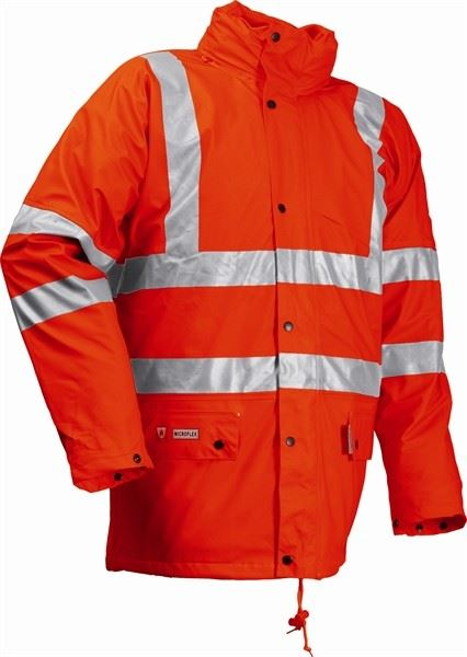 Lyngsoe PU Parka FR-LR3456 4XL (Orange)