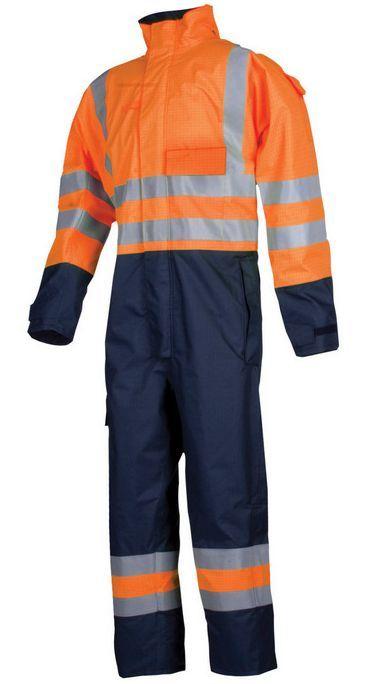 Sioen 5634 Siopor FR-AST overall XL (OR Oranje)