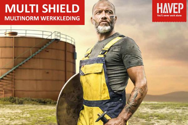 NIEUW! Havep Multi Shield: nieuwe generatie sportieve multinorm werkkleding
