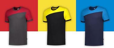 Tricorp T-shirt Bicolor Naden 102006