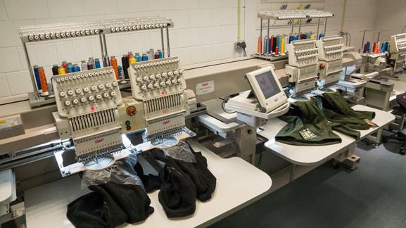 borduurmachines unishore bedrijfskleding