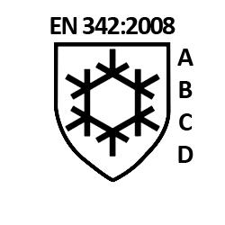 EN342 normering voor koudebescherming