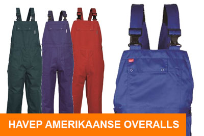 Havep Amerikaanse overall Workwear Basic collectie