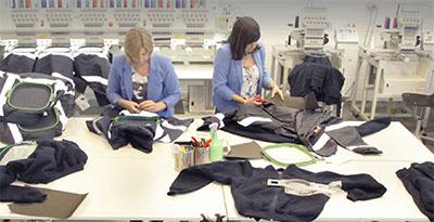 Helly Hansen werkkleding borduren